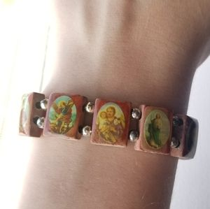 Jewelry - 📦FREE SHIPPING📦 ROSARY Stretchy Bracelet